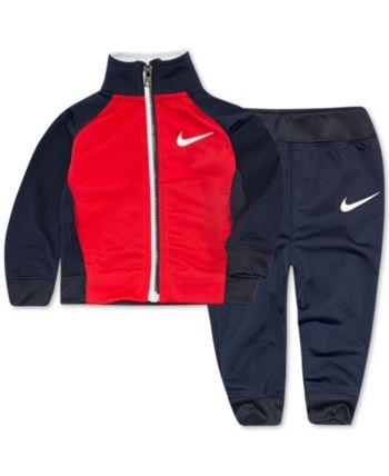 Nike Infant Boy/'s 2-Piece Jogger Tracksuit Jacket /& Pants Set