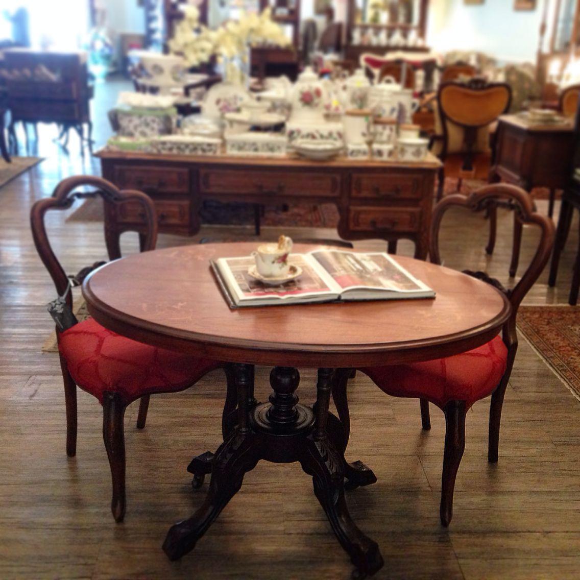 Victorian Antique Table Available Beautiful Chateau Publika Kuala Lumpur Malaysia Dining Table Decor Table