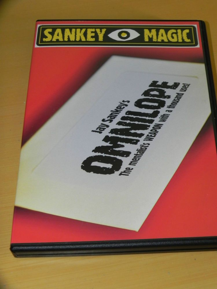 Omnilope by Jay Sankey (DVD + Gimmick envelope) - Stand-Up/Stage Magic. clearance sale for all sankey magic products!! 1 day left!! #deals #magic #tricks