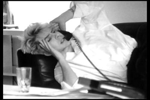 Nick Rhodes...wonder who is blathering on the other line...