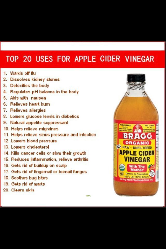 Top 20 uses for apple cider vinegar | HEALTH | Cider