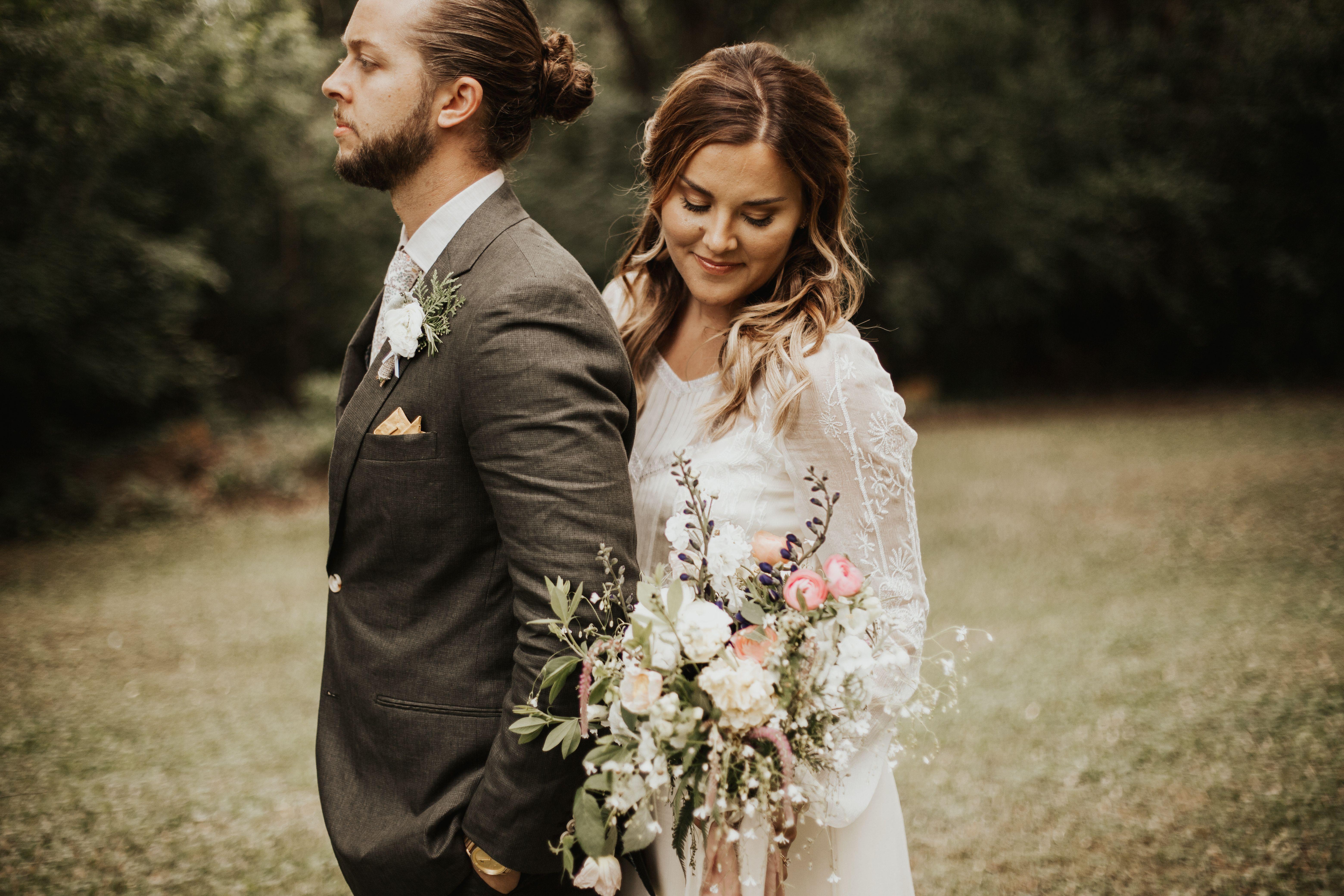 Saja wedding vt long sleeve wedding dress ethereal wedding