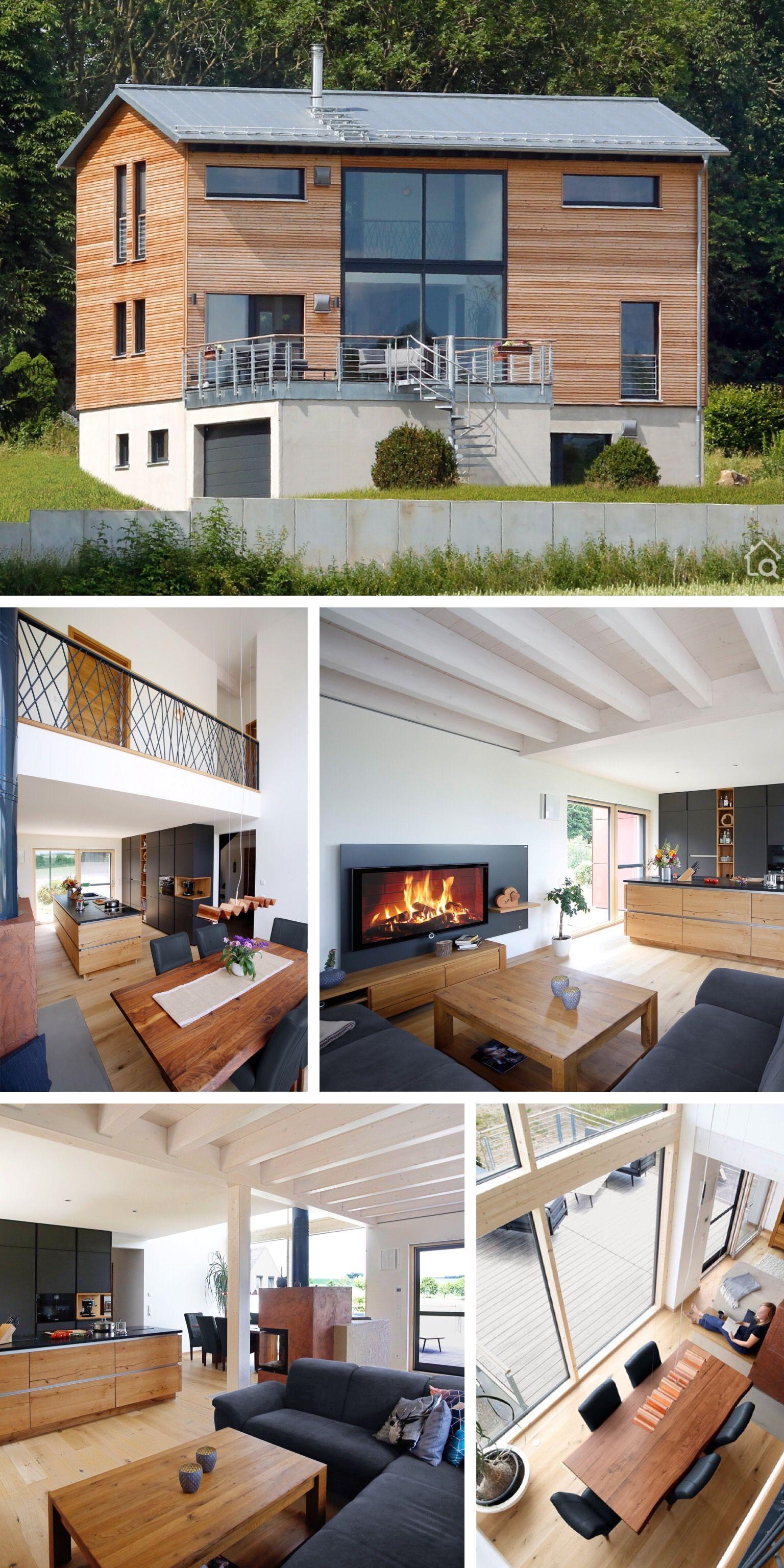Photo of Einfamilienhaus ÖKOHAUS SCHELLENBERG mit Garage – Hausbaukratzer