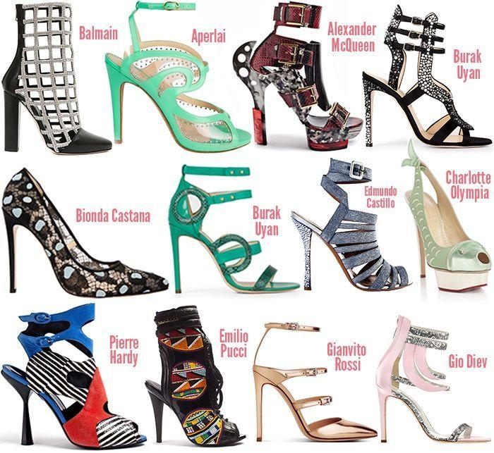 Spring 2014 Shoe Trends - ShoeRazzi   Trending shoes