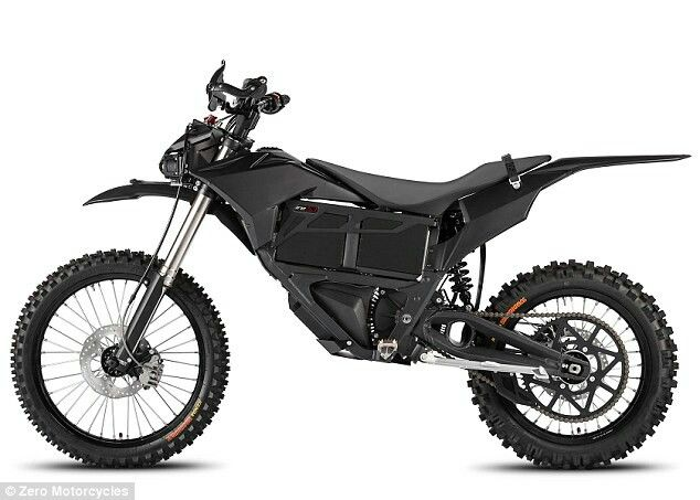 All Black Enduro Zero Electric Motorcycles Electric Motorcycle