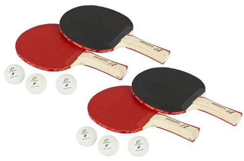 Eastpoint Sports 4 Player Paddle Ball Set With Organizer