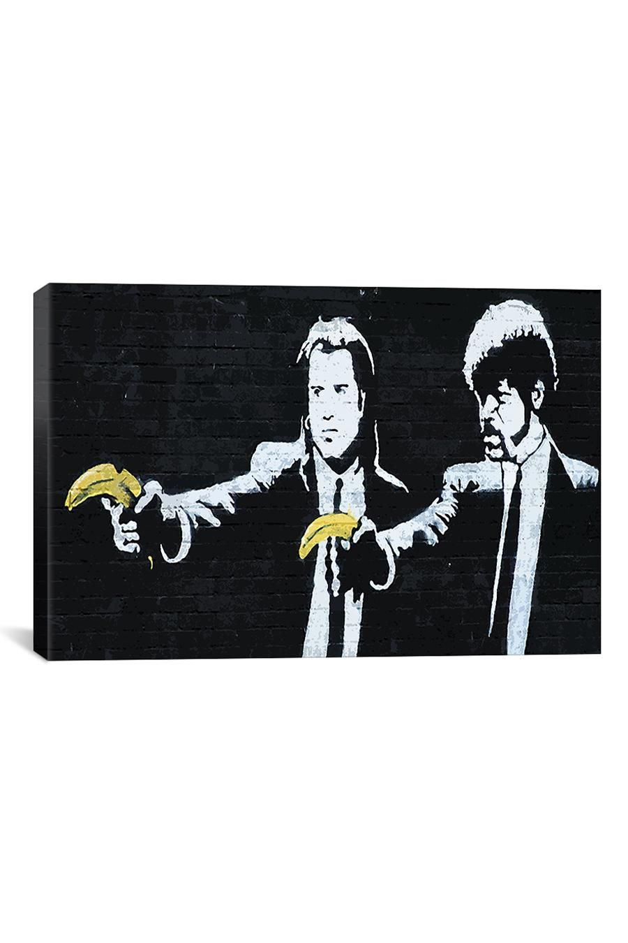 Pulp Fiction Bananas Canvas