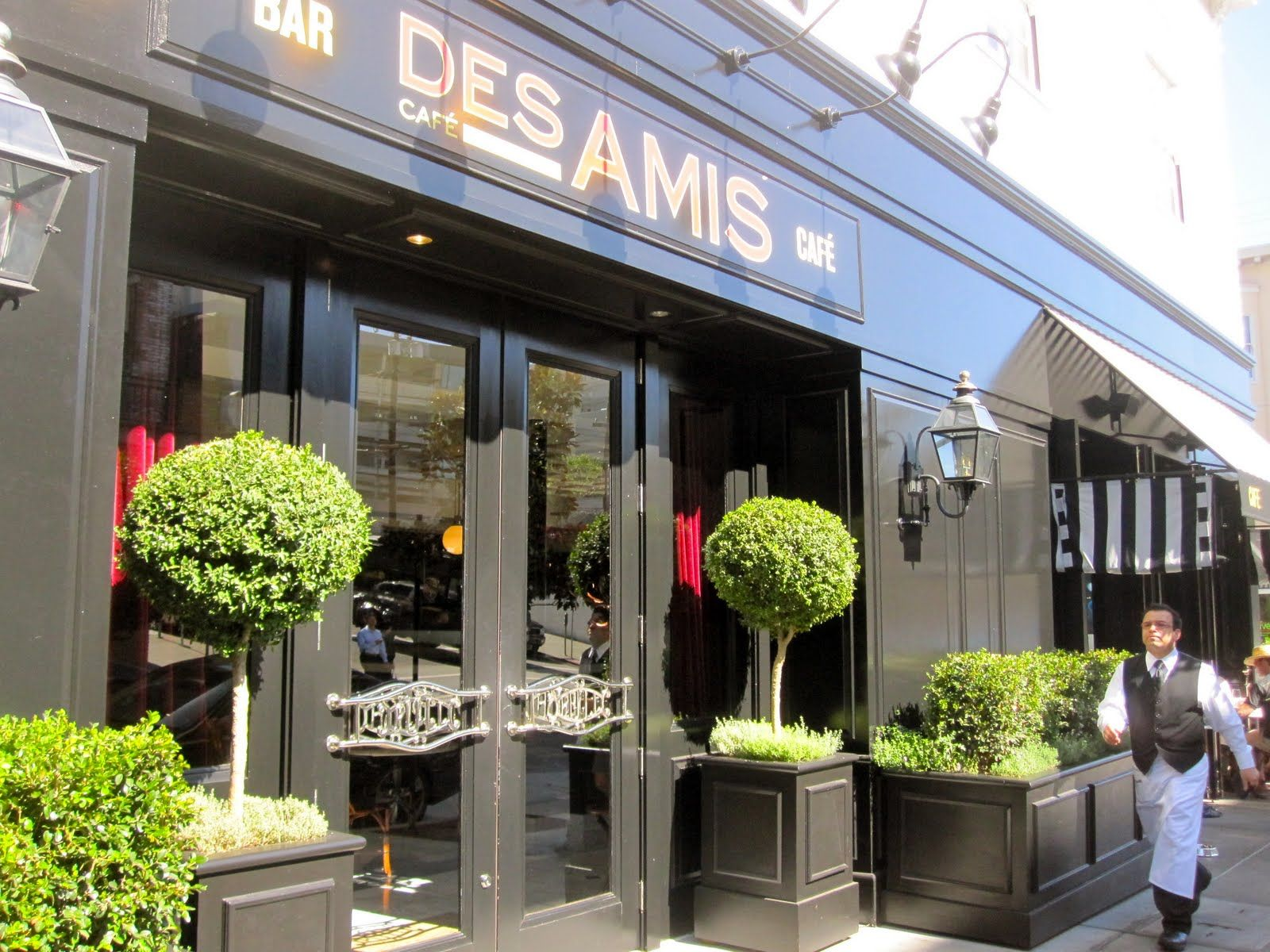 Restaurants · Cafe Des Amis, San Francisco (FABULOUS French Flair). Exterior  DesignSan ...
