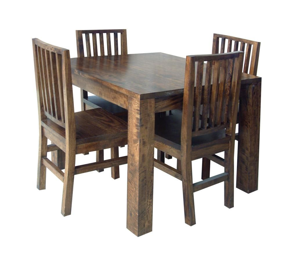 Wooden Card Table Dining Tables Mango Wood Hampton 1m
