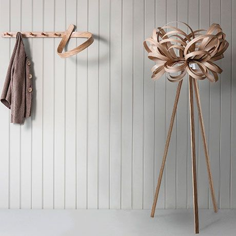 Wooden Floor Lamps With A Twist By Tom Raffield Wooden Floor Lamps Tom Raffield Floor Lamp Design