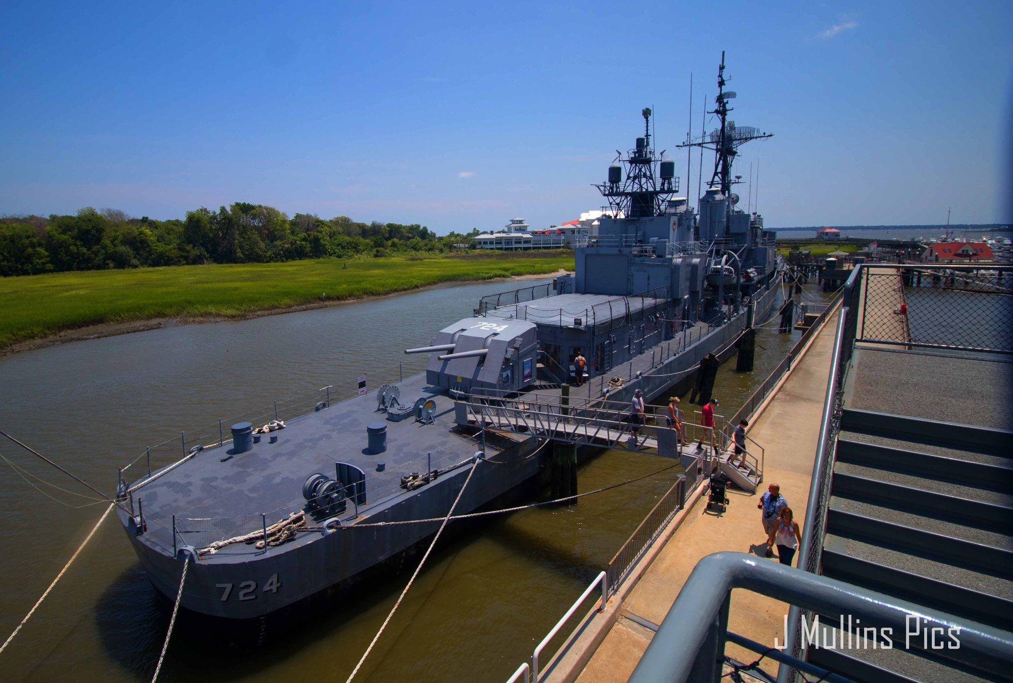 Patriots Point Charleston South Carolina Uss Yorktown Aircraft Carrier Uss Laffey Destroyer Uss Clamagore Uss Yorktown Uss Laffey Charleston South Carolina