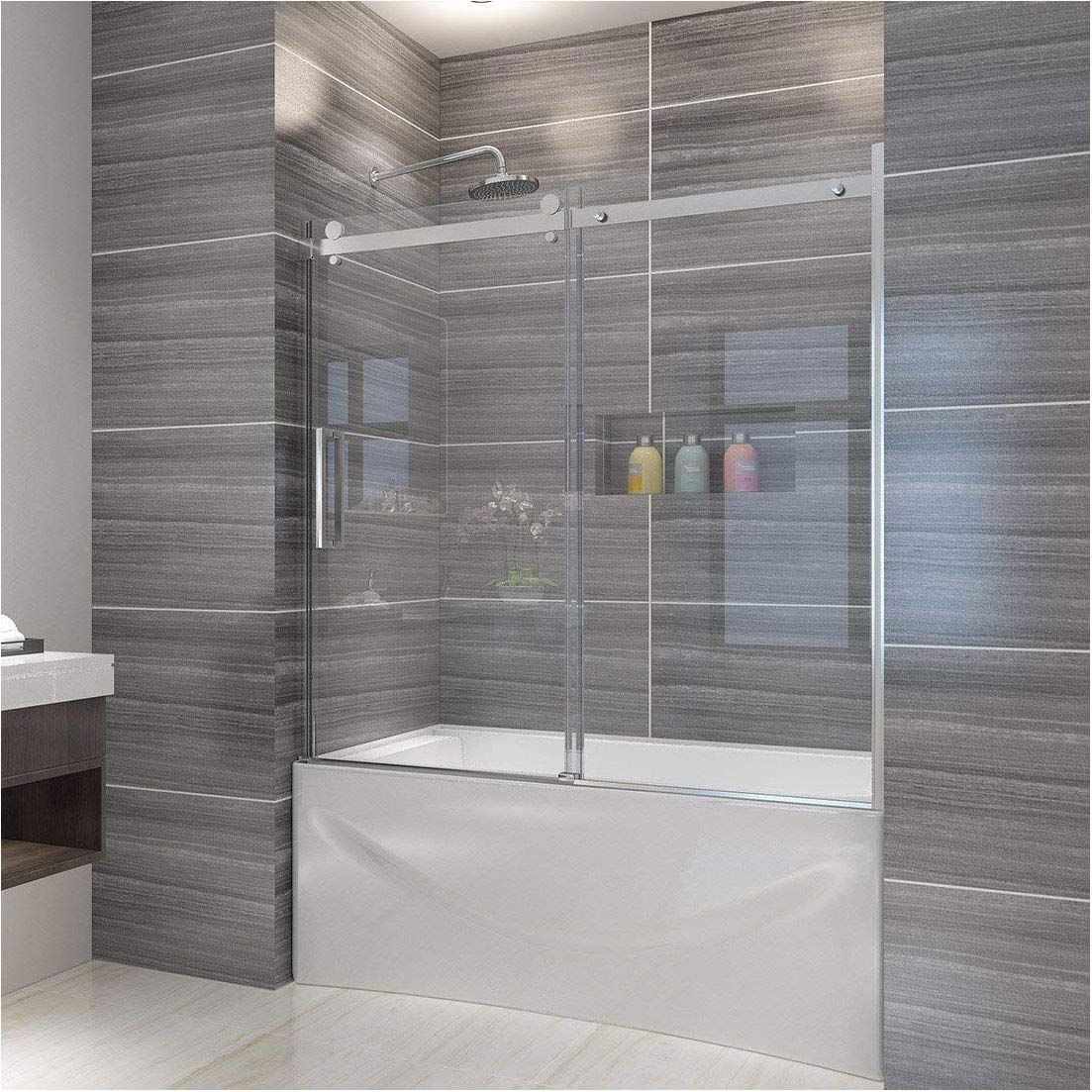 Awesome Bathroom Shower Glass Panel Bathtub Doors Bathtub Shower Doors Glass Tub