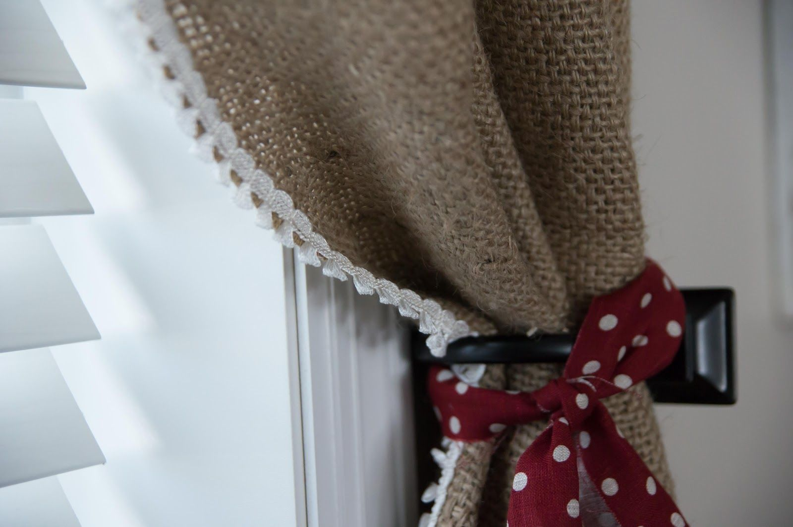 Burlap curtains burlap ideas pinterest the oujays burlap and tops