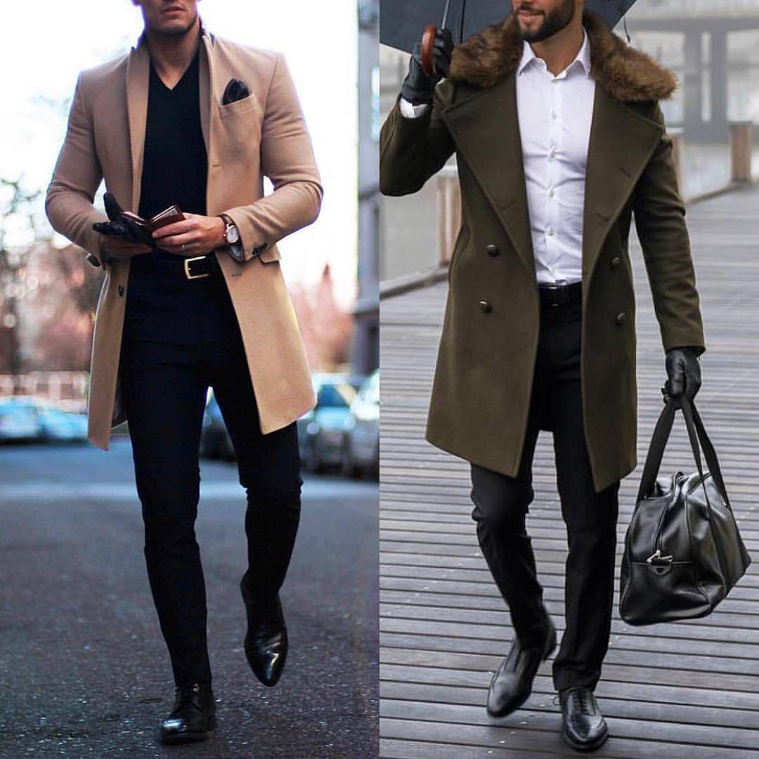 Red Coats Man Vintage Long Trench Coats For Mens Blue British Style Long Jacket Mens Coats Elegant Gentleman Grey Khaki Black