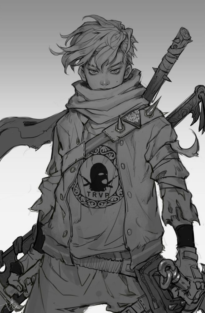 Badass Anime Character Design : Bed dfce a f fad bb g  anime