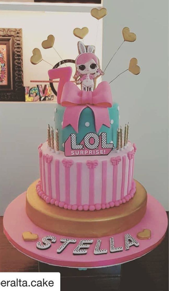 Lol Surprise Dolls Birthday Cake Fiestas Infantiles Pinterest