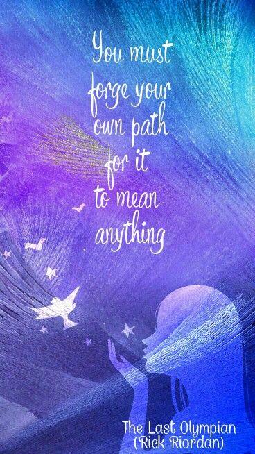 Percy Jackson Quote #rickriordan #percyjackson #thelastolympian #books # Quotes #fangirl #