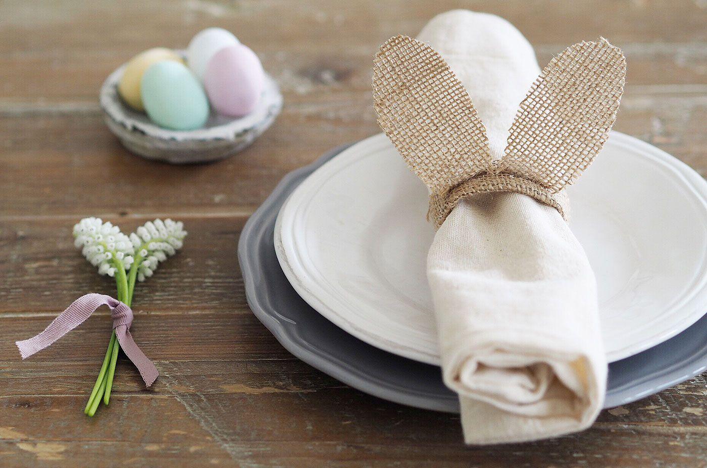 Bunny Napkin Holder Easter decorations diy easy, Bunny