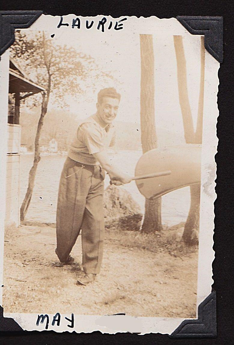 Larry, Lake Ossawana, 1940