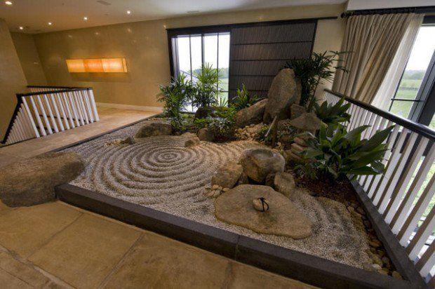 20 Beautiful Indoor Garden Design Ideas Indoor Zen Garden