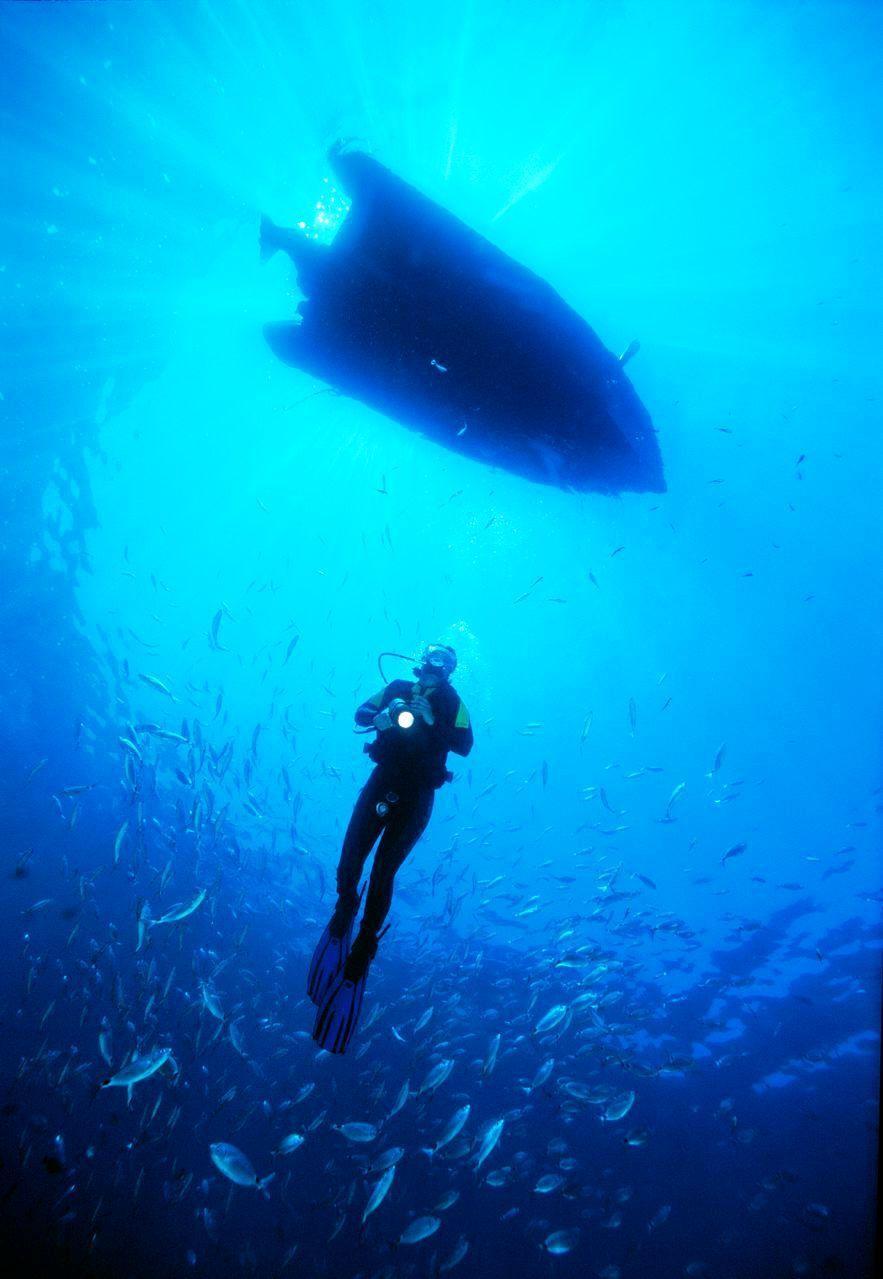 Faire de la plongée sous marine en anglais