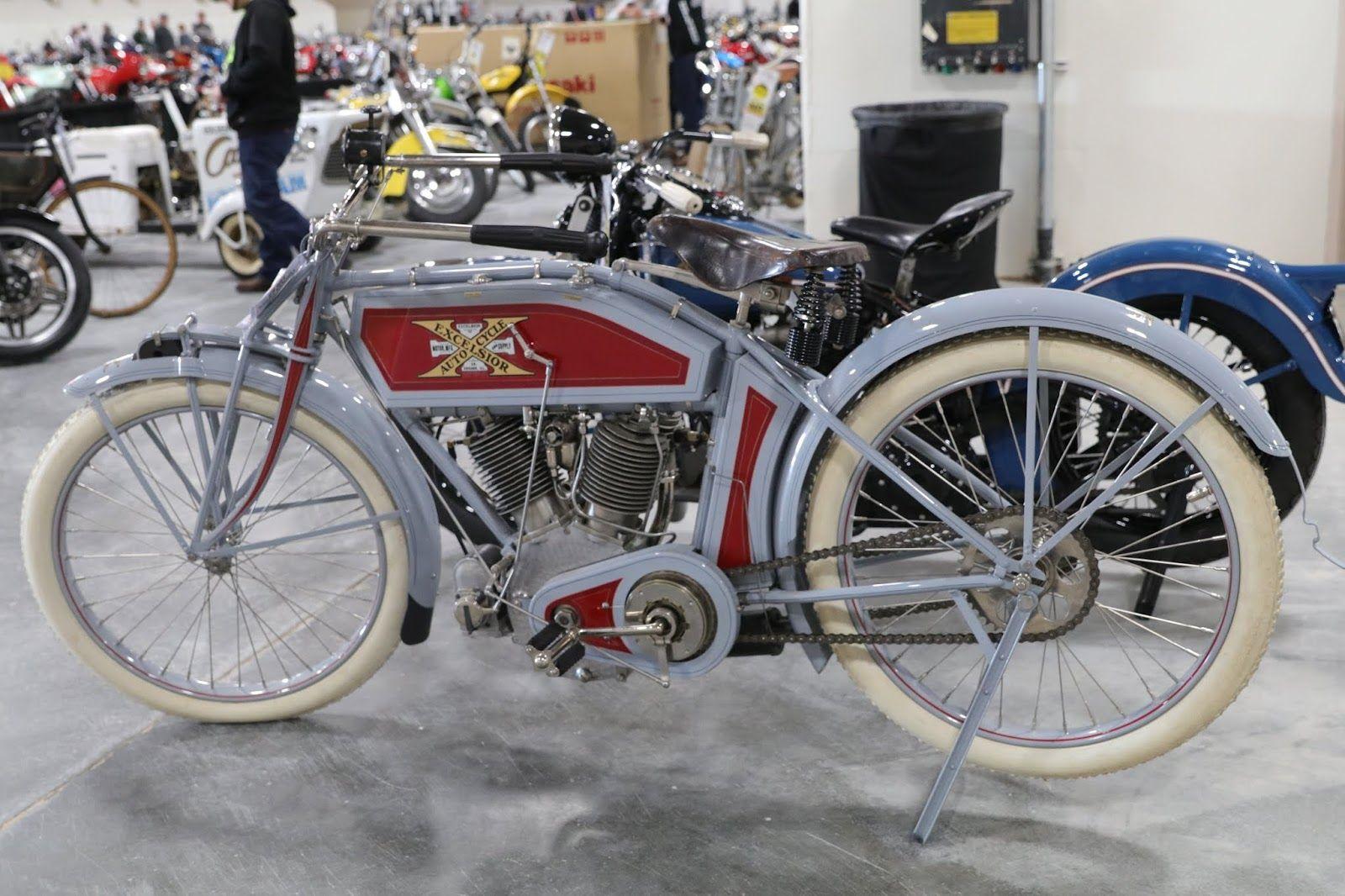 1913 Excelsior C7 V Twin Motorcycle Excelsior Vintage Motorcycles