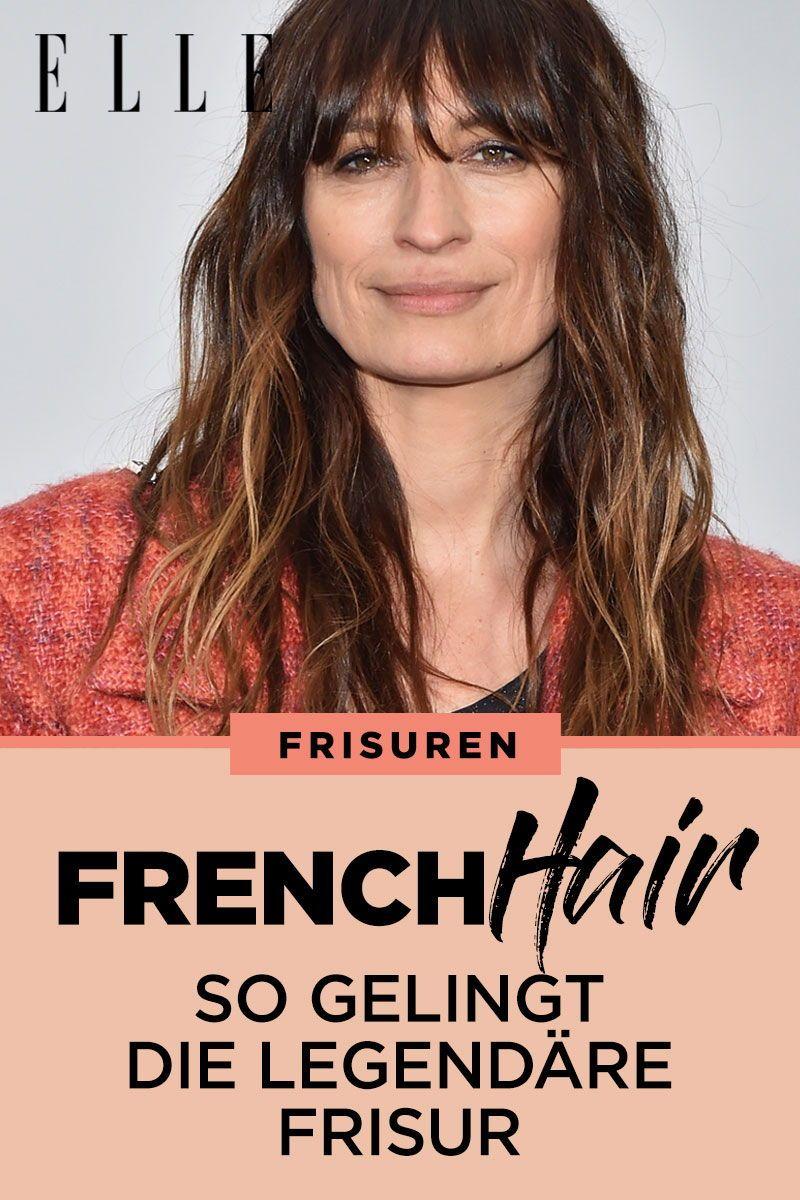 french hair: so gelingt die legendäre frisur der