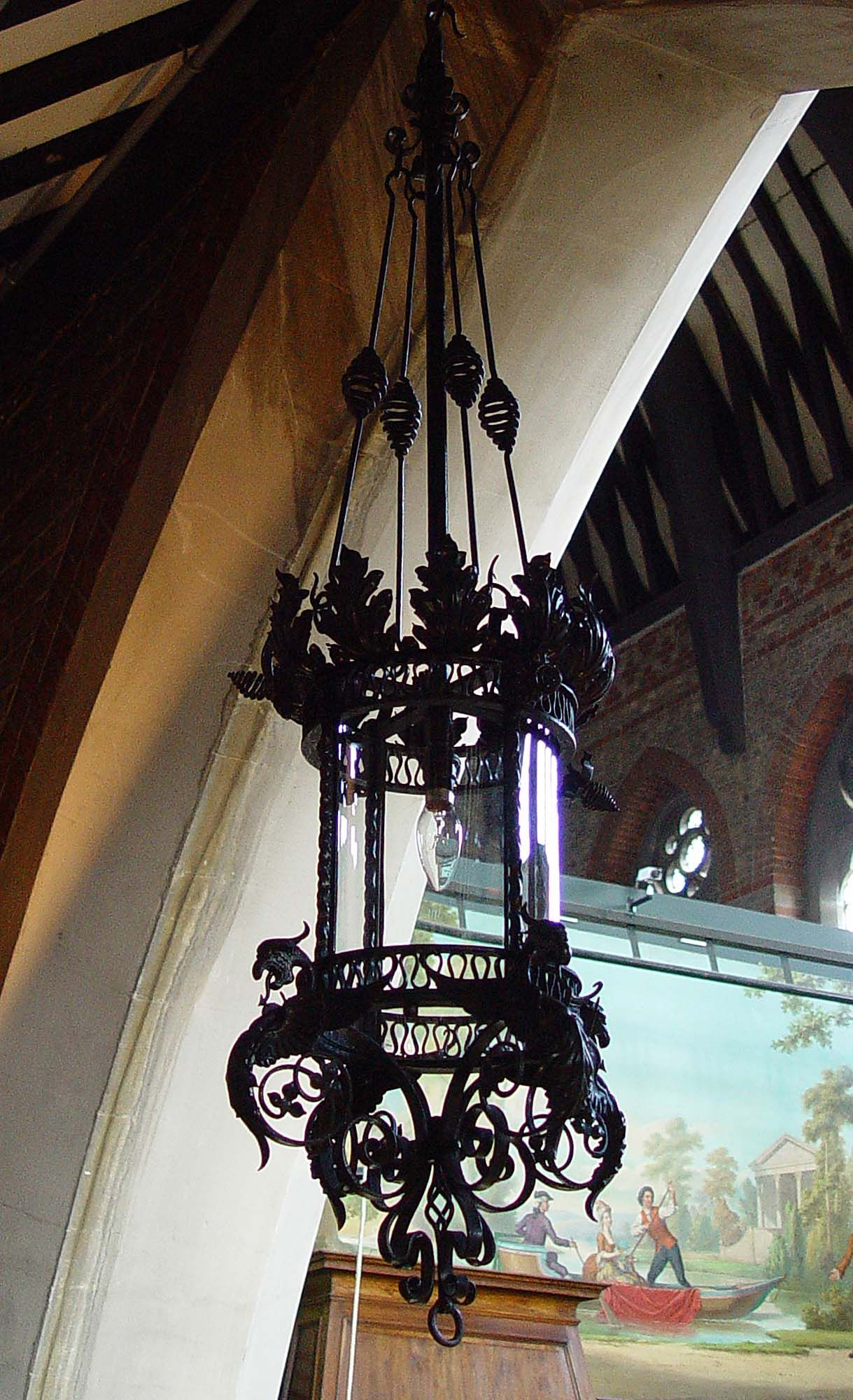 Chandelier lamp gothic chandelier lantern lamp black chandelier chandeliers gothic interior