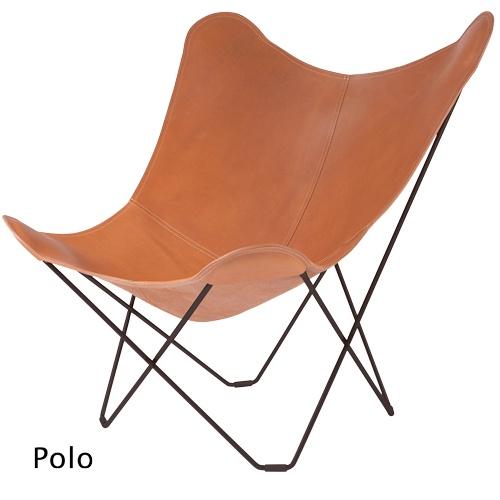 Lepakkotuoli Pampa Mariposa • designklassikko laadukkaalla nahkaistuimella