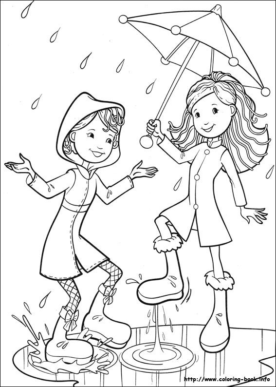 Printable groovy girls coloring pages ~ Groovy Girls coloring page | Coloring pages for girls ...