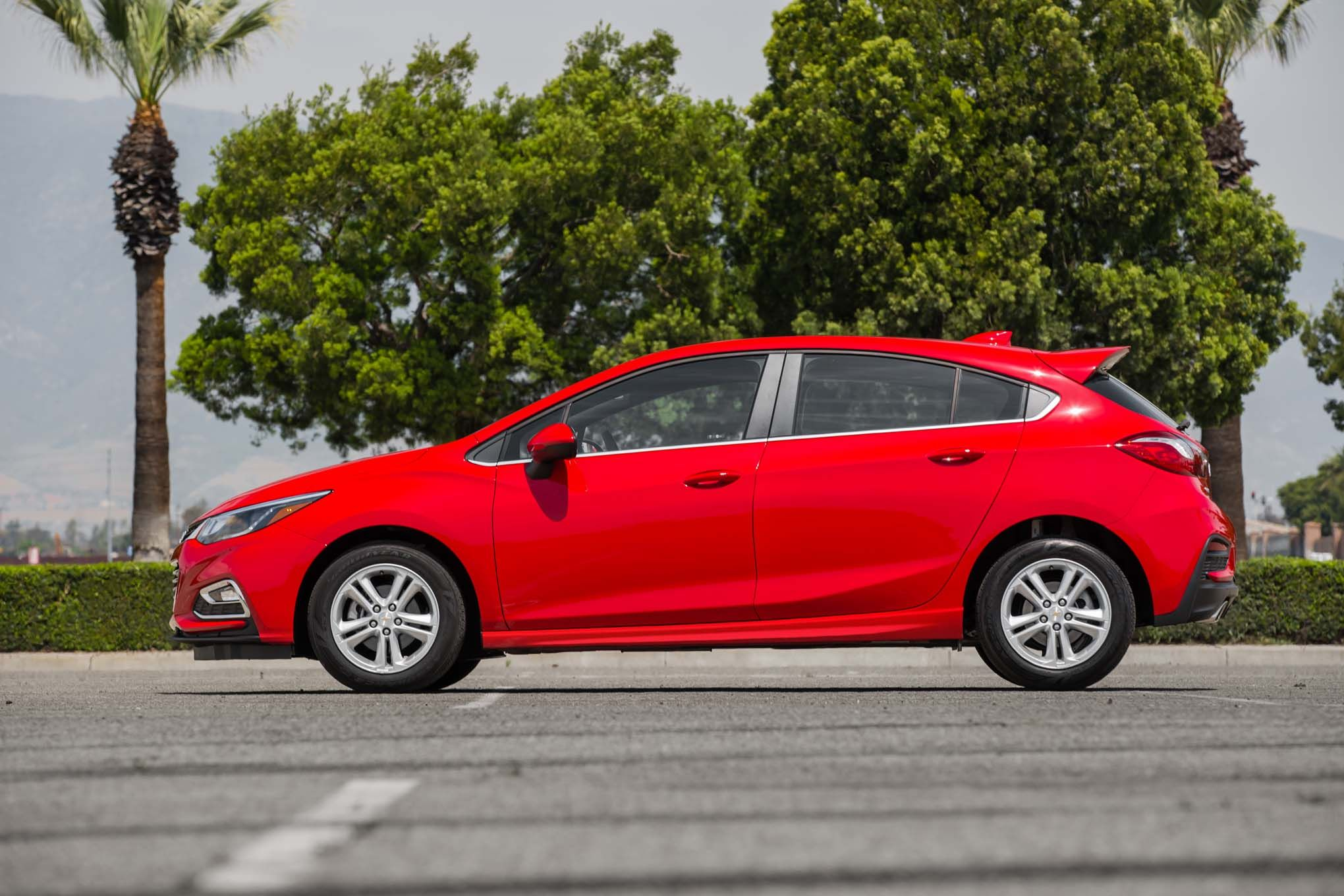 New Chevy Cruze Hatchback Red For Sale At Chevrolet Dealership