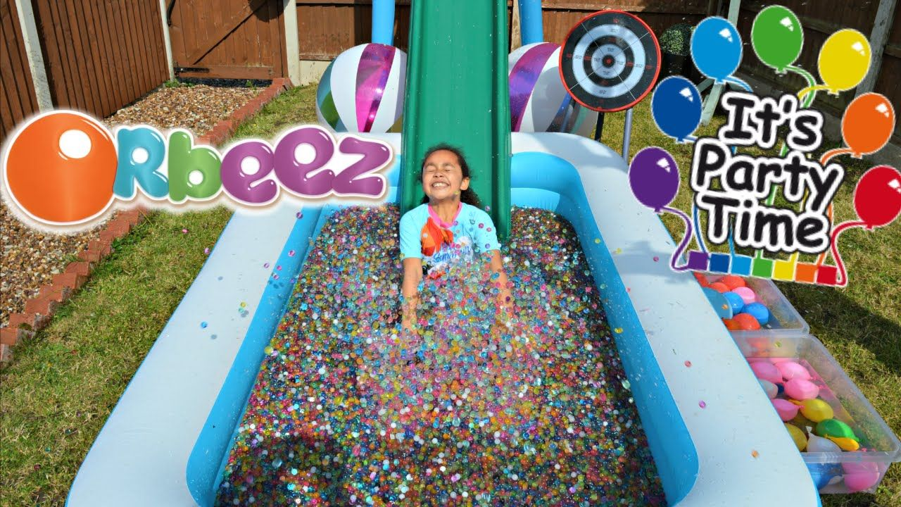 Orbeez Pool Party Water Balloon Bomb Fight Toys Andme Water Party Party Toys Pool Party Lol