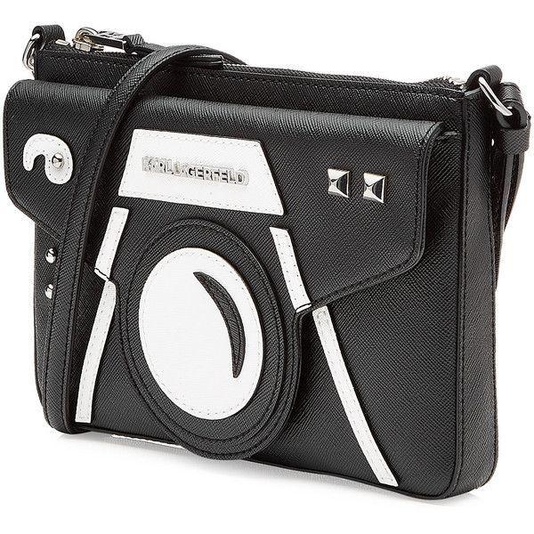 Karl Lagerfeld Camera Shoulder Bag 135 Liked On Polyvore