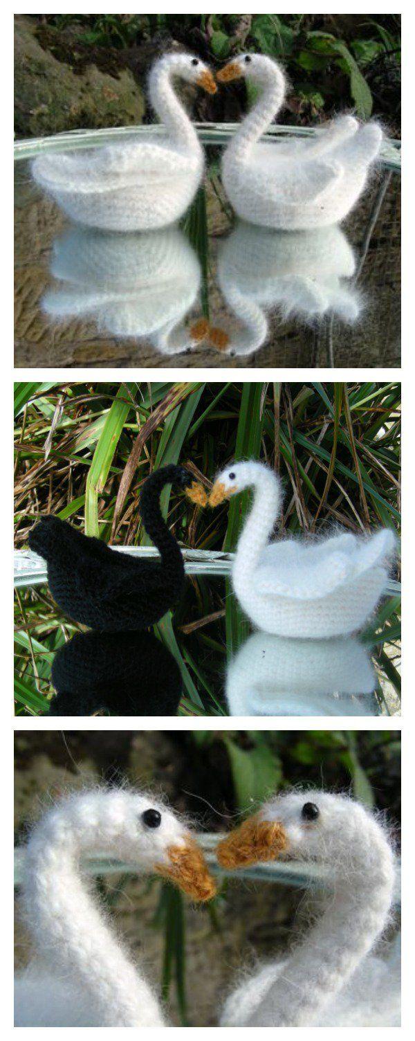 Crochet Swan Amigurumi Free Pattern Häkeln Pinterest Häkeln