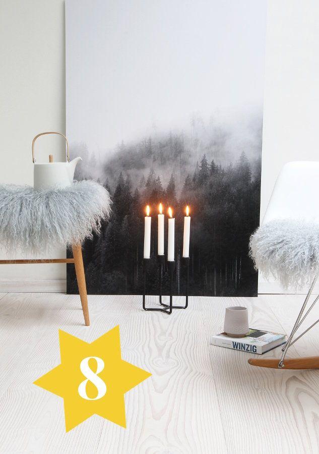 Wohnen Magazin De Adventskalender türchen 8 nebelwald print oceanside solebich de