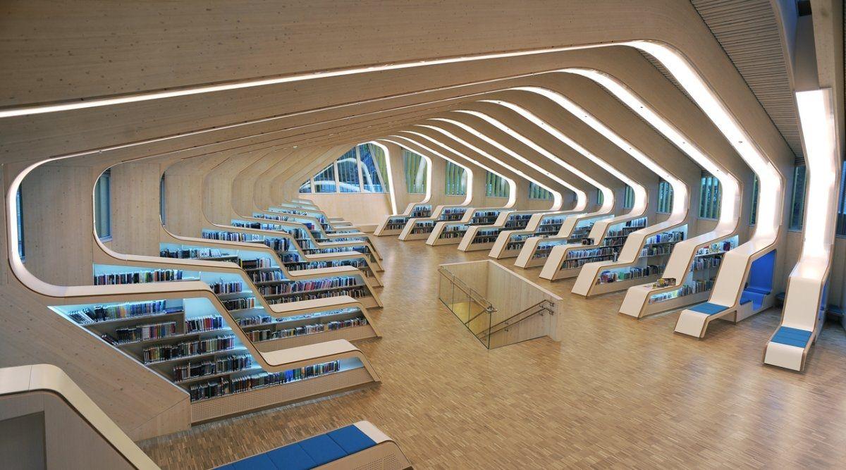 Biblioteca Vennesla Norvegia