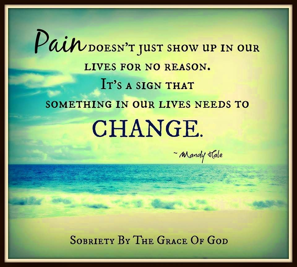 Mandy Hale Quotes Pain Doesn't Just Show Up In Our Lives For No Reasonit's A Sign