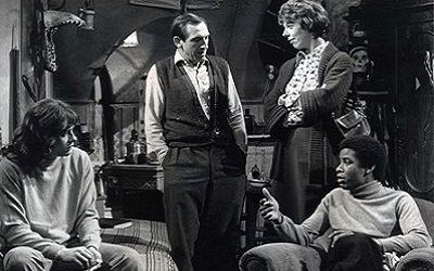 Rising Damp: some of the cast.