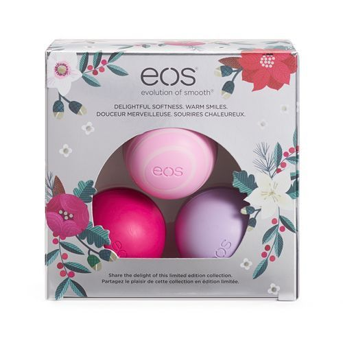 Eos 3 Pk Lip Balm Sphere Set Holiday Limited Edition