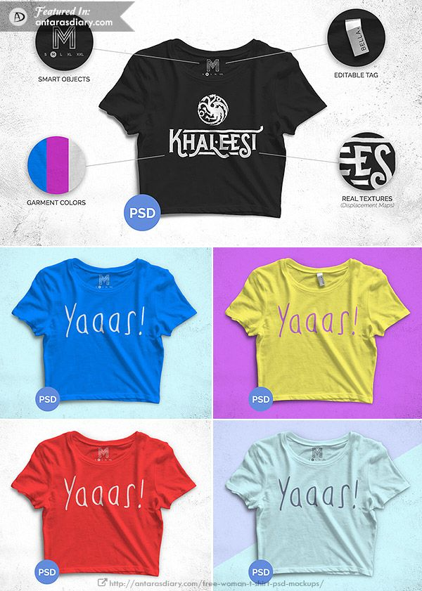 Download Free Crop Top Mockup 2016 Antara S Diary T Shirts For Women Free Crop Tops T Shirt