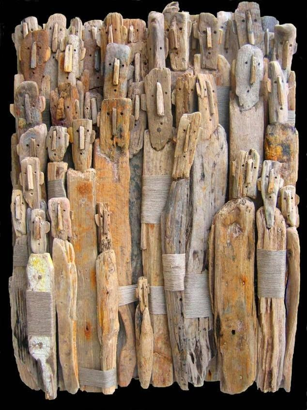 Marc Bourlier . Drift Wood.