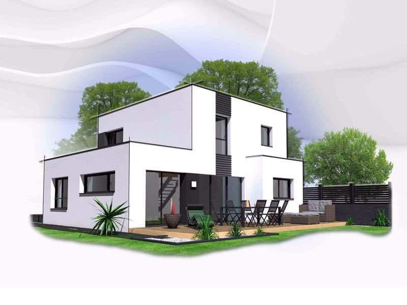 Maison de 103 m2, 222000 E sur 449 m2 de terrain à Saint Renan
