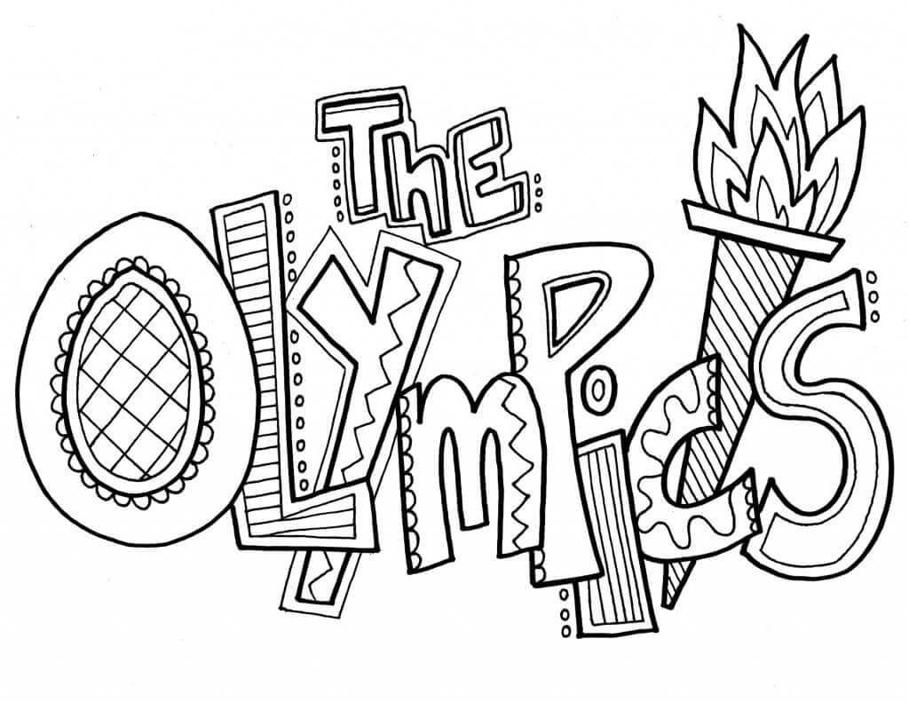 Free Printable Winter Olympics Coloring Pages Winter