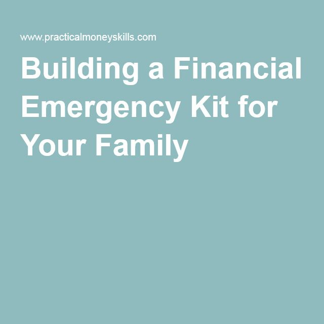 Building a Financial Emergency Kit for Your Family