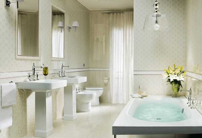 Traditional White Bathroom Designs stunning bathroom designs with perfect wall decor bring out the