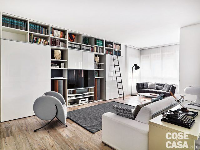 150 mq tutti da copiare: dalla divisione soggiorno-cucina ...