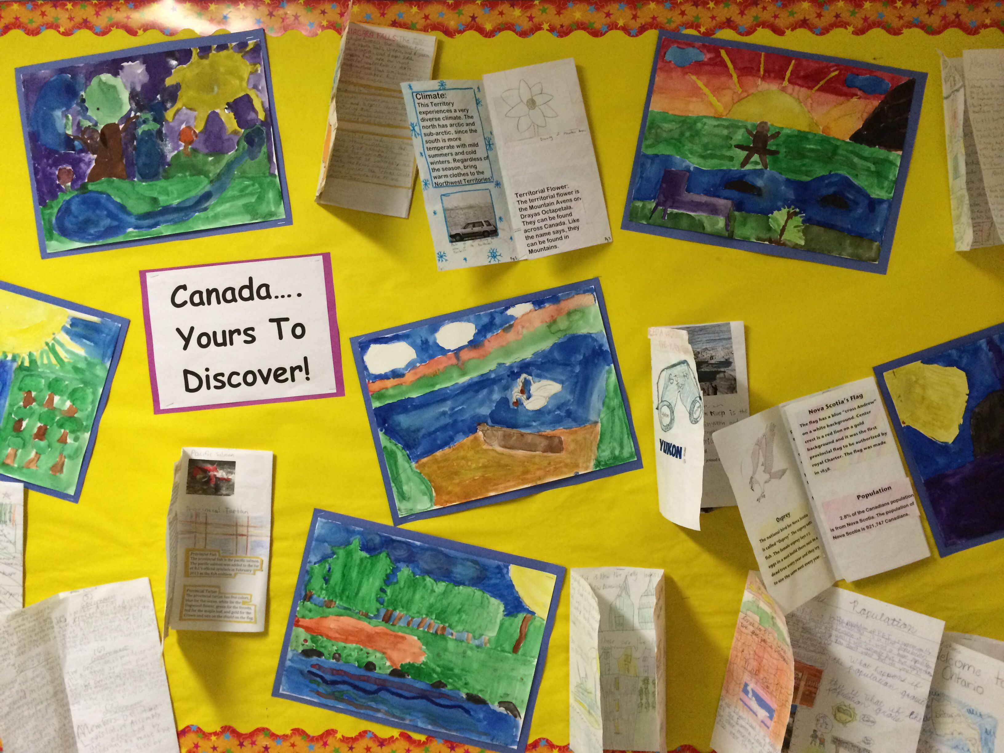 Integrated Lesson With Art And Social Studies. Kids