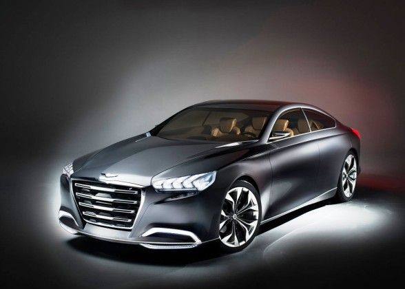 2013 Hyundai Genesis Hcd 14 Unveiled At Detroit Automotivenice Hyundai Cars Hyundai Genesis Concept Cars