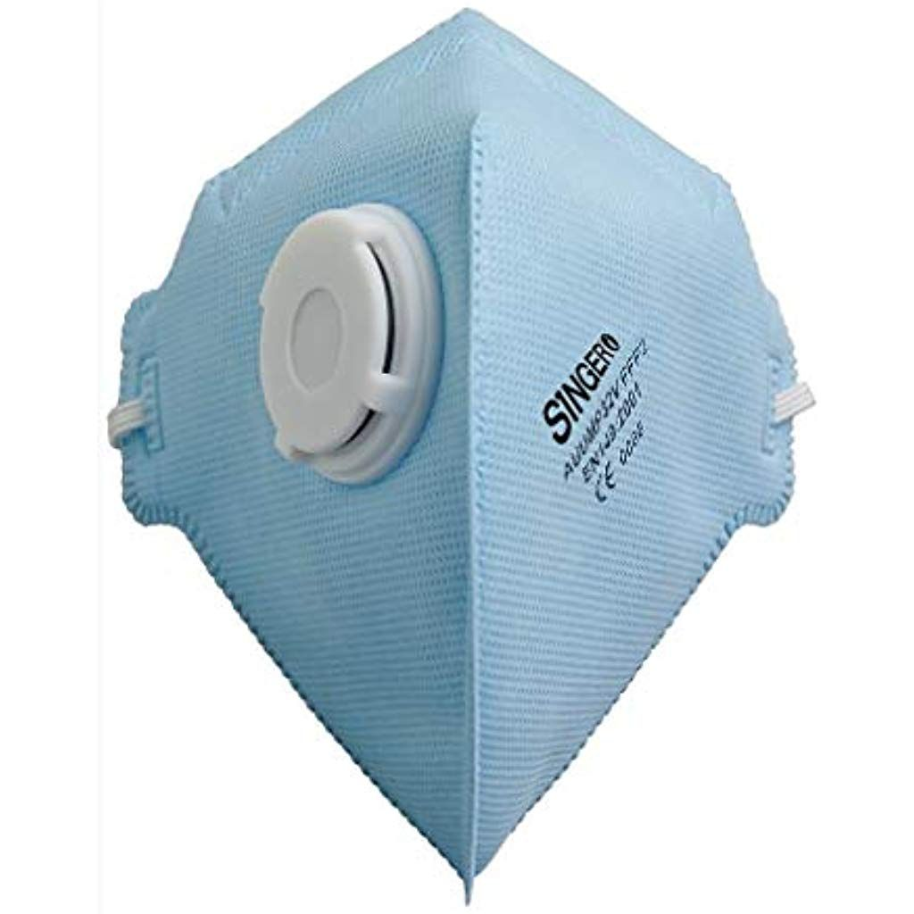 Mundschutz 20 Stuckfaltbar Atemschutzmaske Mit Ventil Ffp2