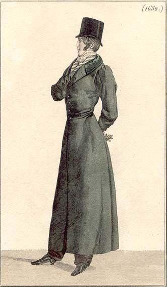 Redingote à l'Anglaise. Pantalon à la Russe Published in Costume Parisien, 1817 Redingote à l'Anglaise. Pantalon à la Russe